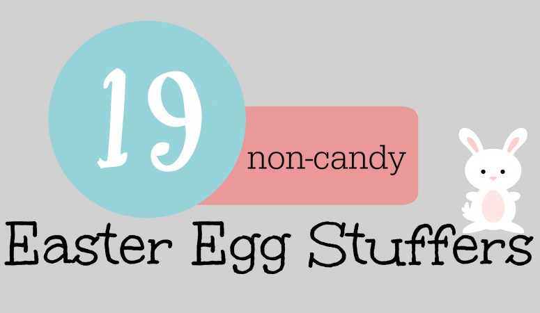19 non-candy Easter egg fillers
