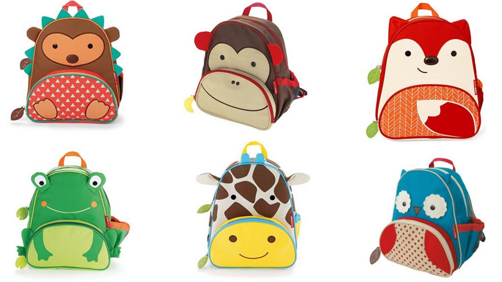 SkiHop Zoo Childen's Backpacks