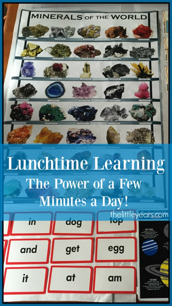 Lunchtime Learning Pinterest cover