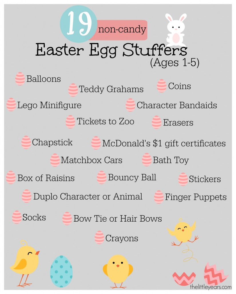non candy easter egg stuffers completed