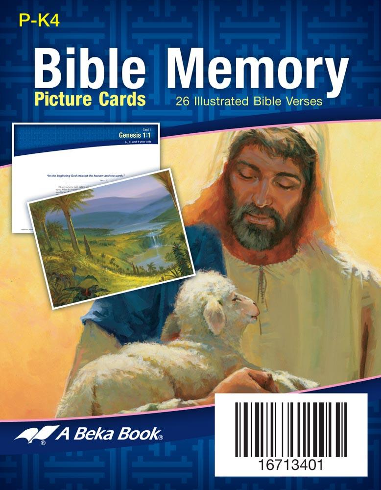 Bible Memory flash cards