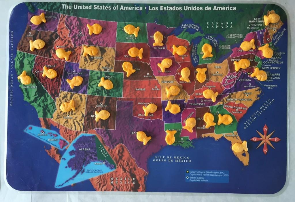 teaching the states to children