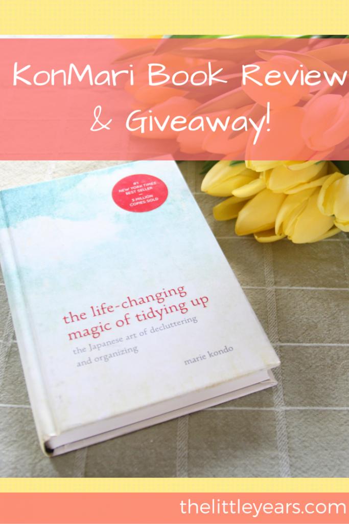KonMari Book Review & Giveaway!