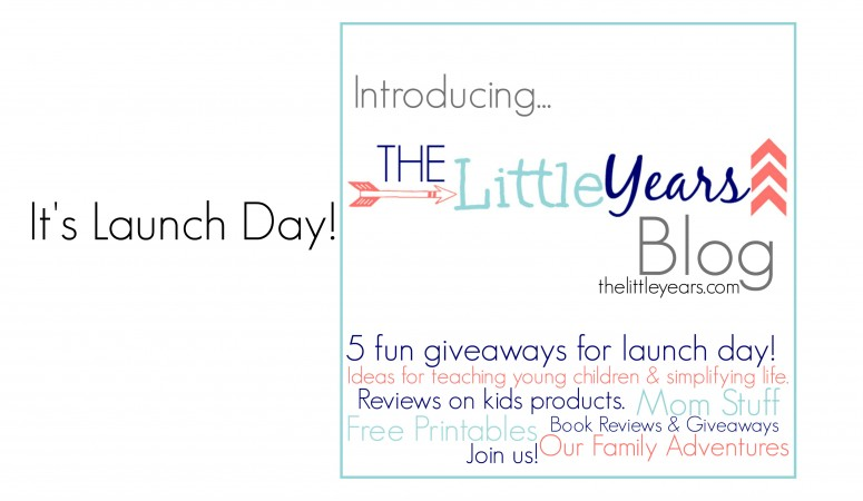 Blog Launch Day! – 5 fun giveaways