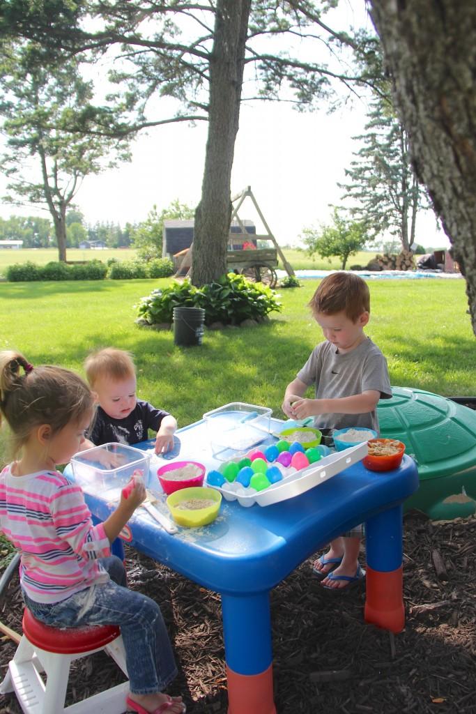 outdoor Kitchen activity