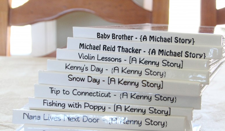 Photo storybooks for your child + 20 theme ideas!