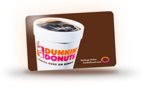 dunkin giveaway