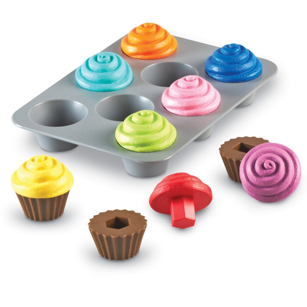 shape cupcakes learning resources