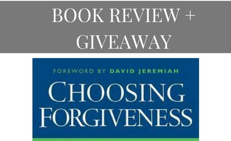 """Choosing Forgiveness"" – Book Review & Giveaway!"
