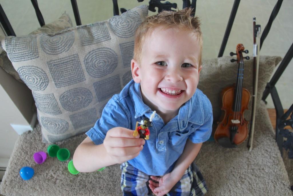lego violin practice