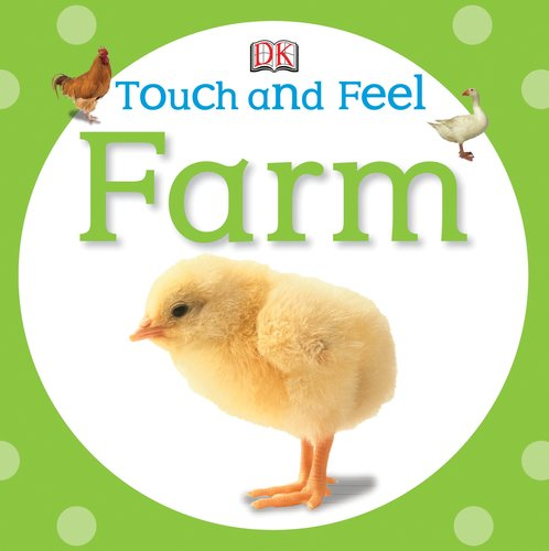 DK touch and feel farm book for baby