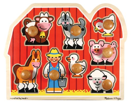 wooden farm puzzle melissa and doug