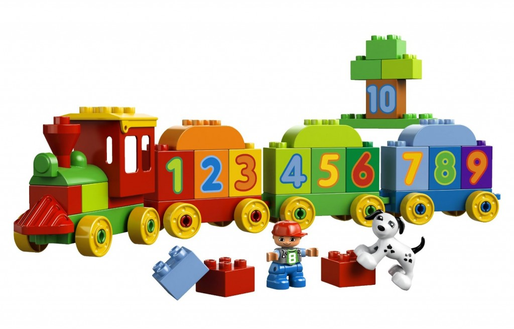 duplo counting train