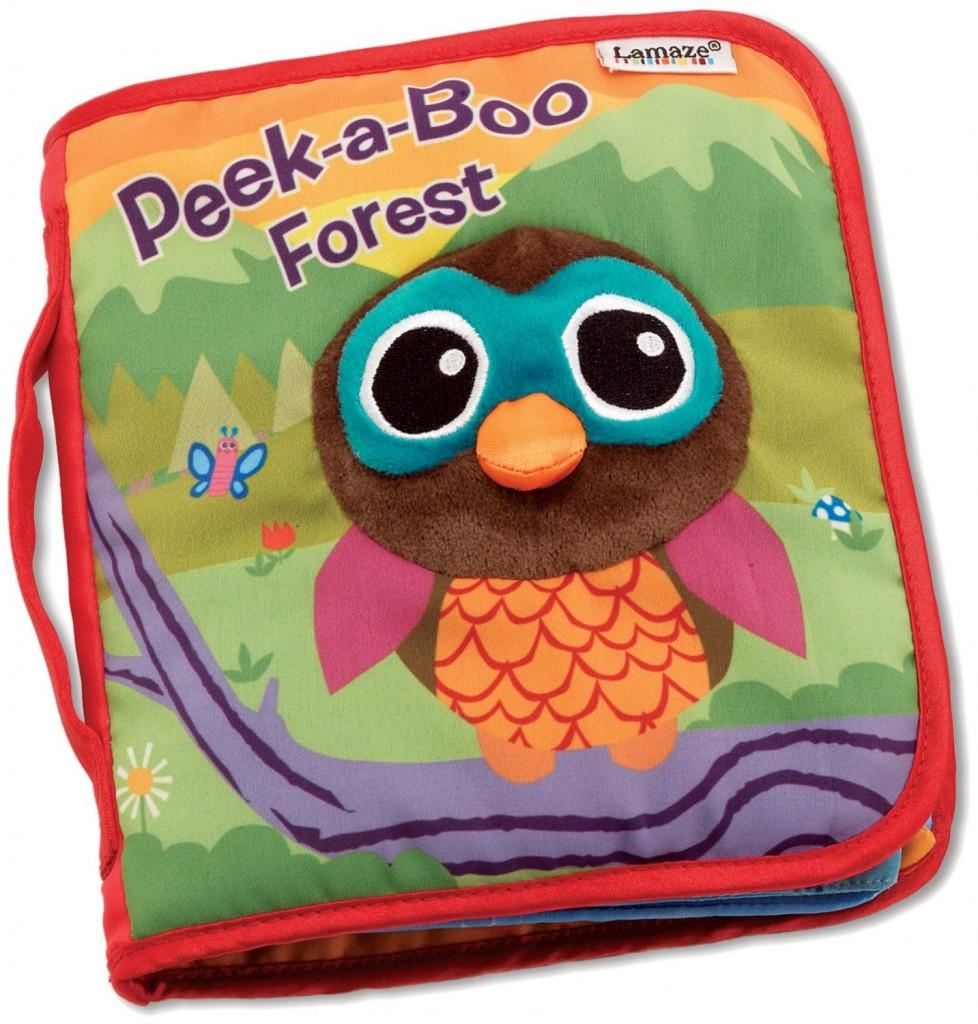 peekaboo forest soft book