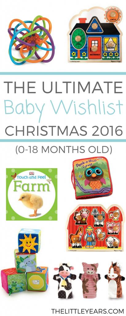Baby Christmas Wishlist