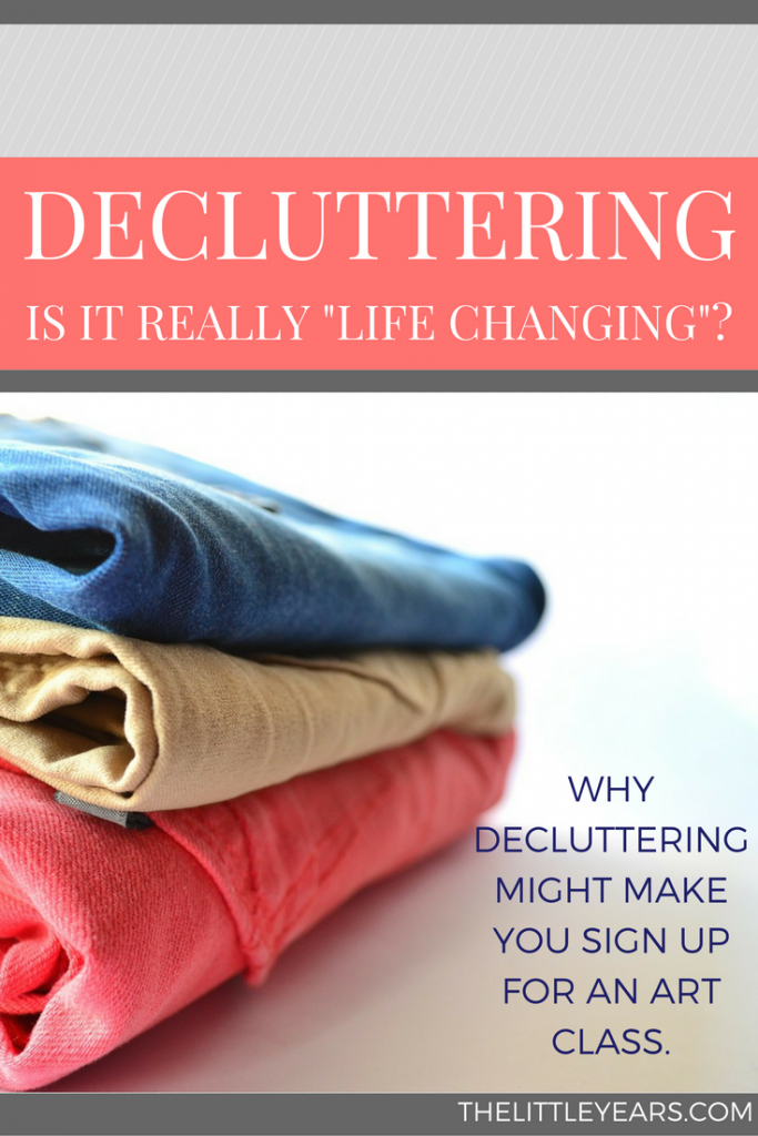 decluttering the konmari method