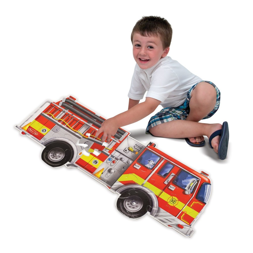 fire engine puzzle for kids