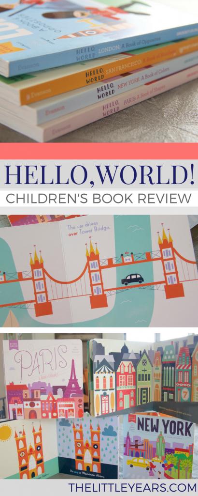 hello world board book