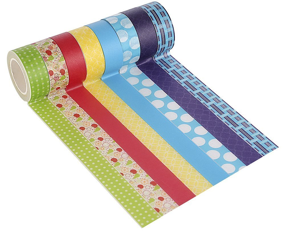 Colorful washi tape for kids