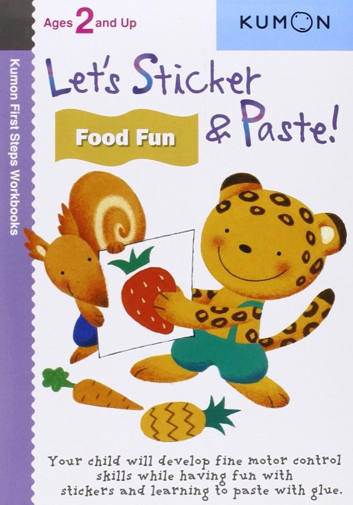 kumon sticker and paste