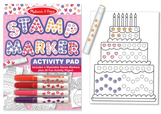 stamp marker activity book for kids