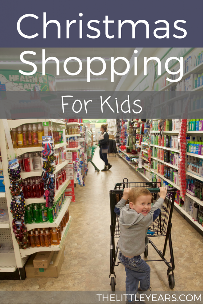 Christmas shopping for kids