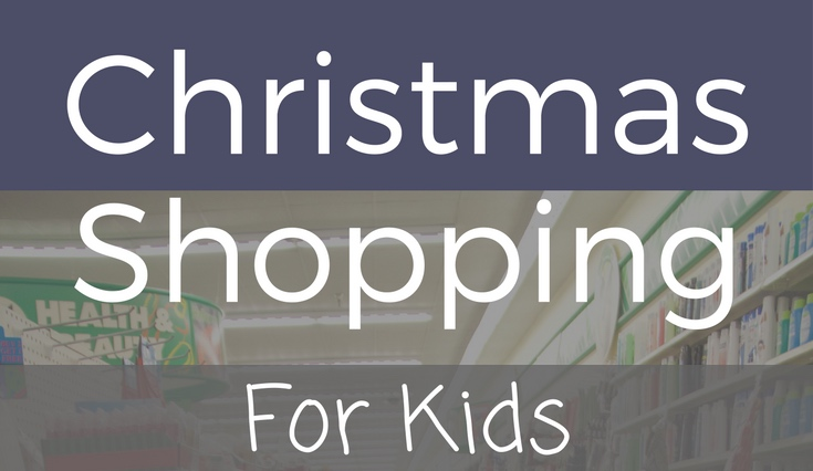 Simple Christmas Shopping for Kids