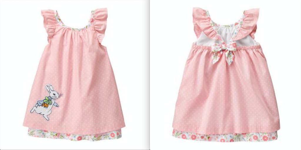 gymboree girl easter outfit