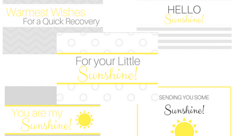 photograph regarding Box of Sunshine Printable named 3 Sunlight Box Themes + a Totally free printable! - The Minor A long time