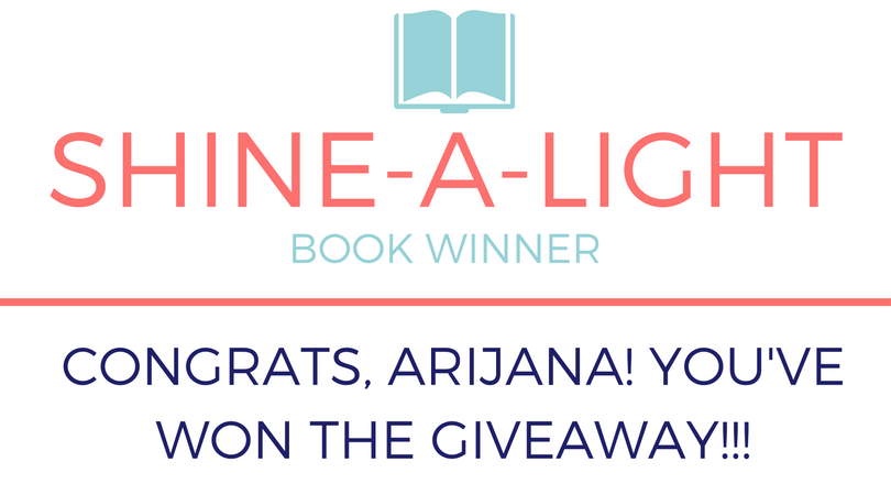 WINNER of the Shine-a-light giveaway!!!
