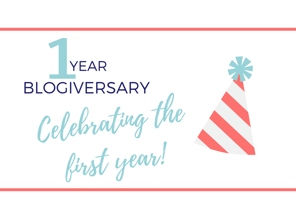 It's My 1 Year Blogiversary Today!