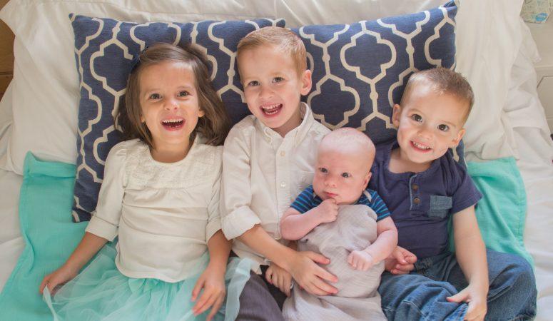 Raising 4 Kids + a Hornworm