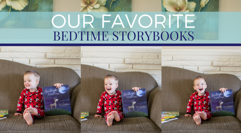Our Favorite Bedtime Storybooks + a Giveaway!