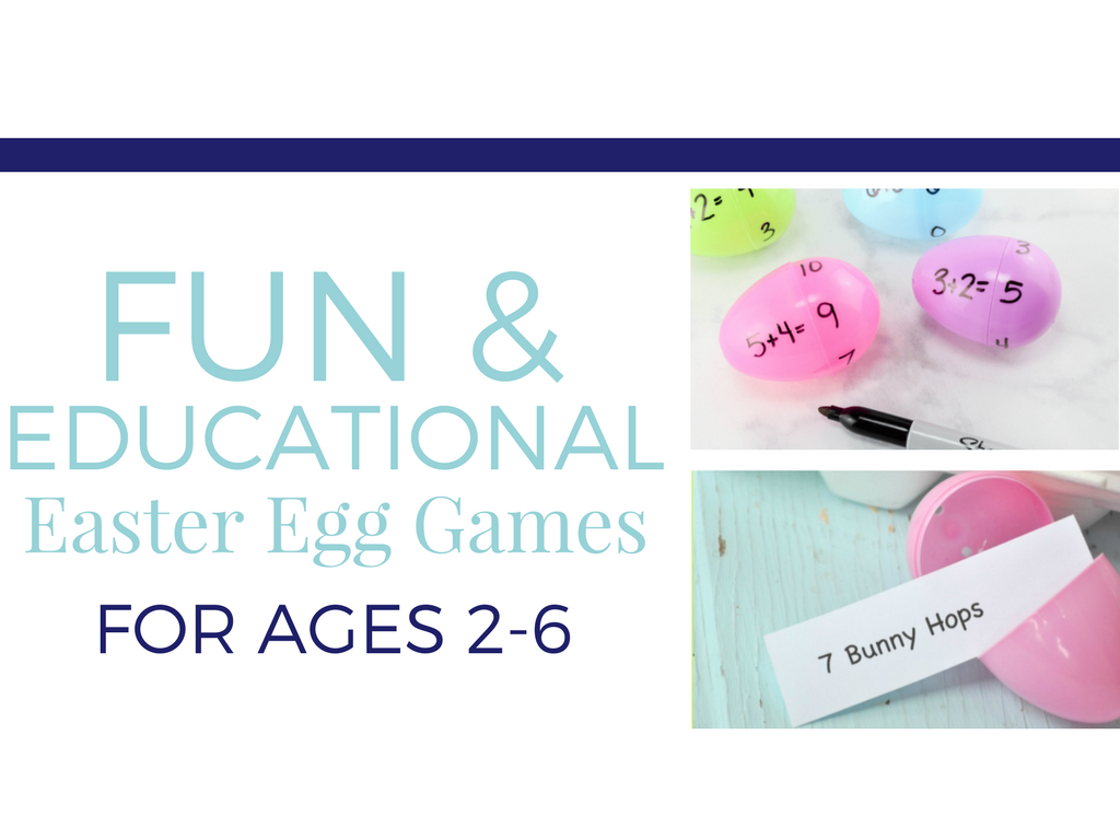 Easter Egg Learning Ideas