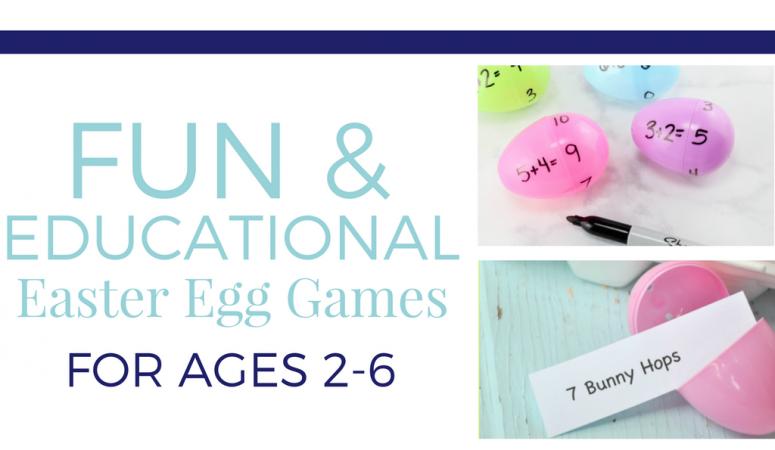 Easter Egg Learning Ideas